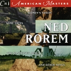 Cover for Ned Rorem: The Nantucket Songs