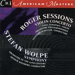 Cover for Music of Roger Sessions and Stefan Wolpe