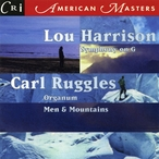 Cover for Lou Harrison & Carl Ruggles: Orchestral Works