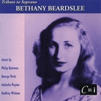 Cover for Tribute to Soprano Bethany Beardslee