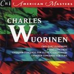 Cover for Music of Charles Wuorinen