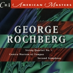 Cover for Music of George Rochberg, Vol. 1