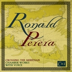 Cover for Music of Ronald Perera