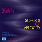 Cover for Arthur Levering: School of Velocity