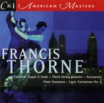 Cover for Music of Francis Thorne