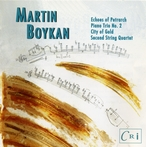 Cover for Martin Boykan: City of Gold & Other Works