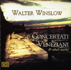 Cover for Music of Walter Winslow