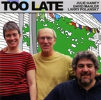 Cover for Too Late