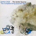 Cover for John Cage: The Complete String Quartets, Vol. 2