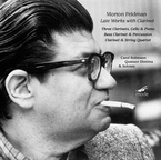 Cover for Morton Feldman Edition Vol. 7: Late Works with Clarinet