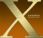 Cover for Xenakis Edition, Vol. 7: Percussion Works