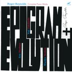 Cover for Roger Reynolds: Epigram and Evolution – Complete Piano Works
