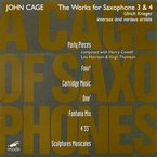 Cover for John Cage Edition, Vol. 42: The Works for Saxophone 3 & 4