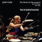 Cover for John Cage Edition, Vol. 52: The Works for Percussion 4