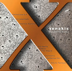 Cover for Xenakis Edition, Vol. 15: Orchestral Works