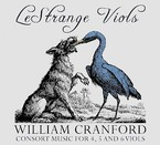 Cover for William Cranford: Consort Music for 4, 5 and 6 Viols