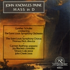 Cover for Paine, John Knowles: Mass in D