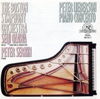 Cover for Peter Lieberson: Piano Concerto