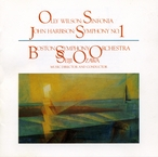 Cover for Wilson: Sinfonia/Harbison: Symphony No. 1