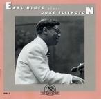 Cover for Earl Hines Plays Duke Ellington