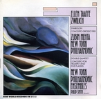 Cover for Ellen Taaffe Zwilich: Concerto Grosso/Trumpet Cto/Symbolon/Double Quartet