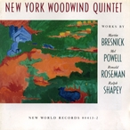 Cover for Bresnick/Powell/Roseman/Shapey: Woodwind Quintets