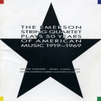 Cover for The Emerson String Quartet Plays 50 Years of American Music 1919-1969