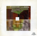 Cover for Frederick Tillis: Freedom