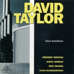 Cover for David Taylor: Bass Trombone