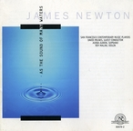 Cover for James Newton: As the Sound of Many Waters