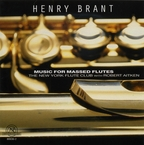 Cover for Henry Brant: Music For Massed Flutes