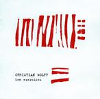 Cover for Christian Wolff: Ten Exercises