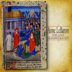 Cover for Anne LeBaron: Pope Joan, Transfiguration