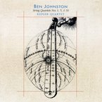 Cover for Ben Johnston: String Quartets Nos. 1, 5, & 10