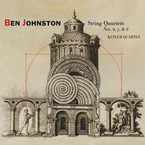 Cover for Ben Johnston: String Quartets 6, 7, & 8