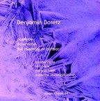 Cover for Benjamin Boretz: Postlude/Downtime/The Memory Of All That