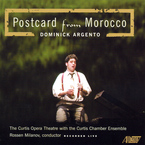 Cover for Dominick Argento: Postcard from Morocco