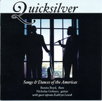 Cover for Quicksilver: Songs & Dances of the Americas