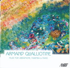 Cover for Armand Qualliotine: Music for Vibraphone, Marimba and Piano
