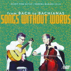 Cover for From Bach to Bachianas - Songs Without Words