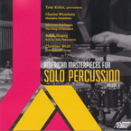Cover for American Masterpieces for Solo Percussion, Vol. II