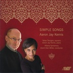 Cover for Aaron Jay Kernis: Simple Songs