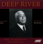 Cover for Deep River:  Songs and Spirituals of Harry T. Burleigh