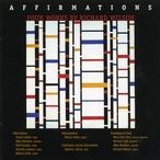 Cover for Affirmations: Four Works by Richard Wilson