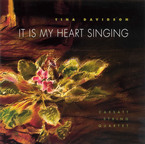 Cover for Tina Davidson: It Is My Heart Singing