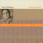 Cover for Gernot Wolfgang: Common Ground