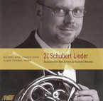 Cover for 21 Schubert Lieder