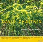 Cover for David Chaitkin: Poems of Love & Other Works