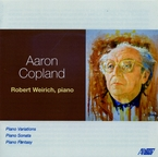 Cover for Aaron Copland: Piano Works