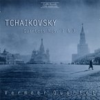 Cover for Tchaikovsky: String Quartets Nos. 1 & 3